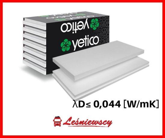Styropian elewacyjny YETICO biały fasadowy lambda 044-10cm*SUPER CENA!