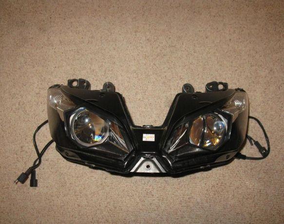 Kawasaki 636 zx 6R 13-14 komplet owiewek owiewki lampa leflektor