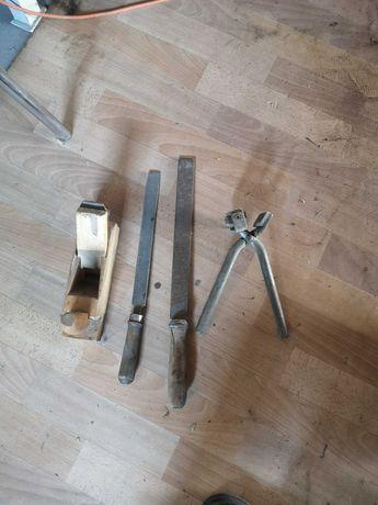 Narzędzia prl pilniki Hebel kolczykownica
