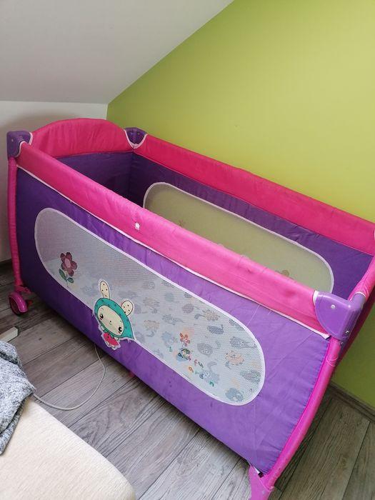 Kojec łóżeczko dla dziecka stan dobry plus materac i piłeczki Lubartów - image 1