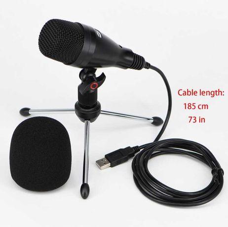 Студийные конденсаторные USB микрофоны FREEBOSS CM-03