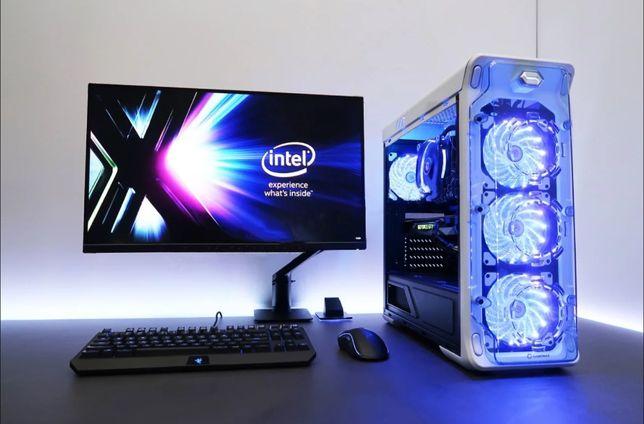 Цезарь! 8-миЯдерный i7 DDR4 16Gb+SSD+GTX 1080 Игровой ПК системный
