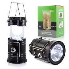 Lampka lampa wędkarska solarna power bank turystyczna