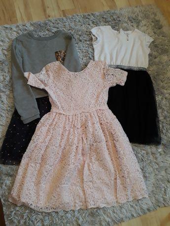 sukienki dziewczęce 140-152 cm