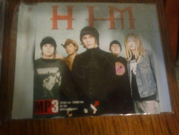Him, качественный, в коробочке mp3 диск (музыка, фото, биография)!