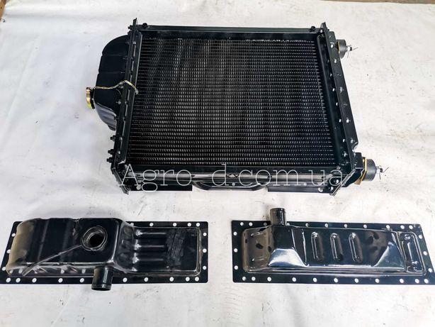 Радиатор водяной МТЗ 80 82 , ЮМЗ медный алюминиевый