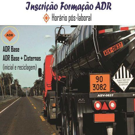 Curso ADR Base e Cisternas (inicial e reciclagem)