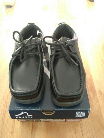 Nowe Buty chłopięce Kangool Waltham Lace skóra naturalna rozm31