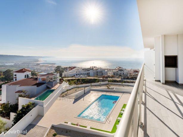 Apartamento T2 com vista mar fantástica e piscina- Em con...