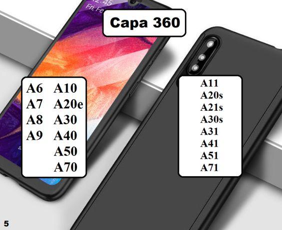 Capa 360 Samsung A ( TODOS OS MODELOS )