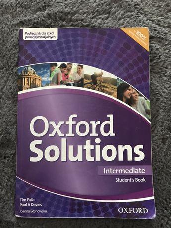 """Podrecznik do jezyka angielskiego """" Oxford solutions"""""""