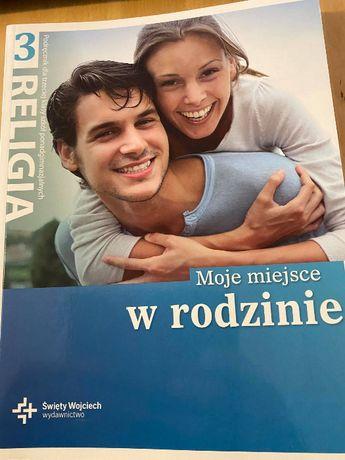 """podręcznik """"Moje miejsce w rodzinie"""", wydawnictwo św. Wojciecha"""