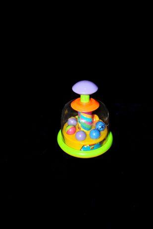 Большая юла с шариками Германия игрушка для новорожденных 3+ 6+ 9+