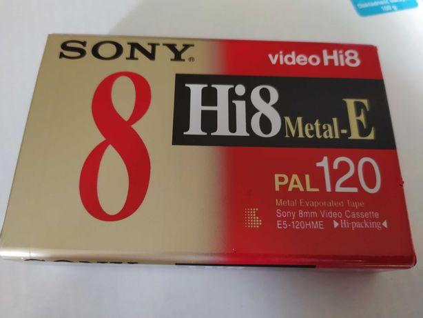 Kaseta Sony  video Hi8 metal-E pal 120