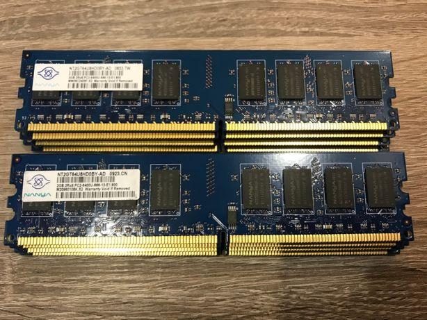 Модули памяти DDR-2 Nanya, Elpida, Crucial по 2Gb (800 MHz) -для ПК#11