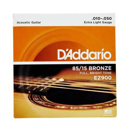 Struny do gitary akustycznej D'Addario EZ900 rozmiar 10-47