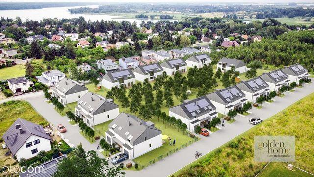 Ekologiczne domy tuż przy jeziorze