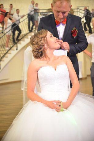 Suknia ślubna r.36-38