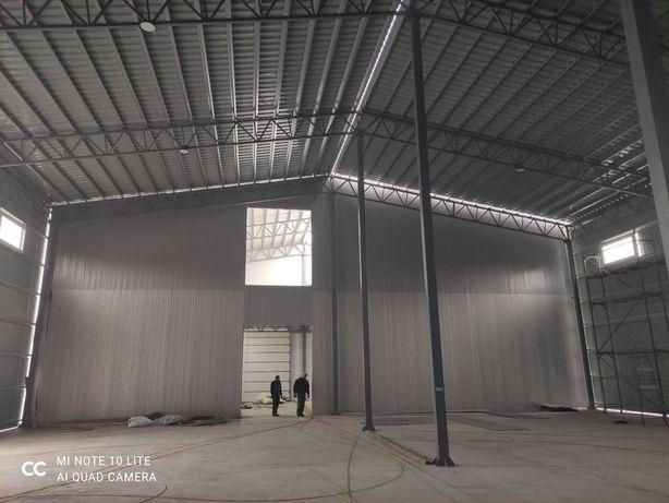 Промислове будівництво. Теплі та холодні склади. Ангари