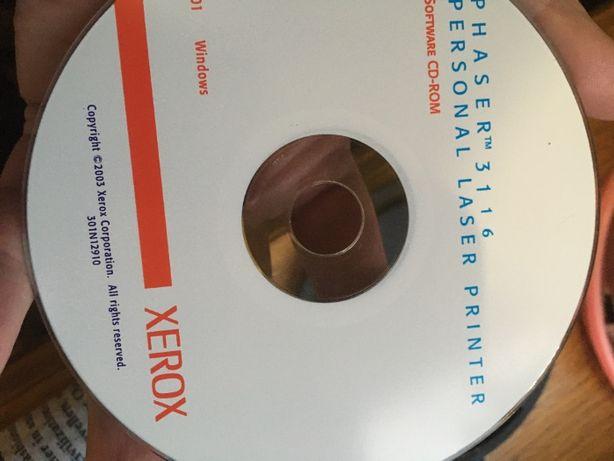 """Загрузочный CD """"Xerox Phaser 3116"""" установочный"""