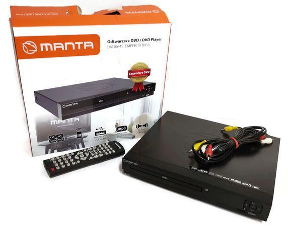 Odtwarzacz DVD Manta MVD064S komplet