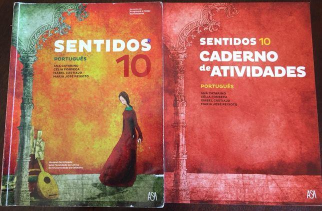 """""""Sentidos"""" 10 ano Português da Asa editores"""