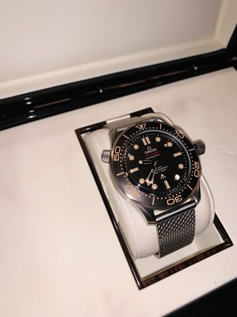 """Omega Seamaster  Diver 300M James Bond 007 """"No Time To Die"""" ORF SS"""