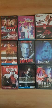 Filmy na DVD, oryginały, komplet 50sztuk