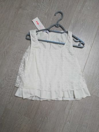 Koronkowy top, Bluzka, t-shirt rozm s/m