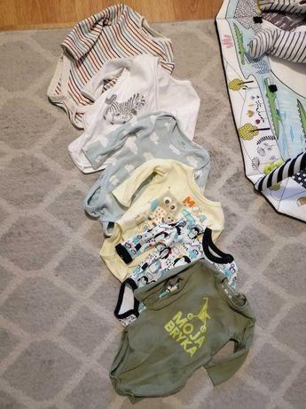 MEGA PAKA. Ubranka różne dla niemowlaka roz 62