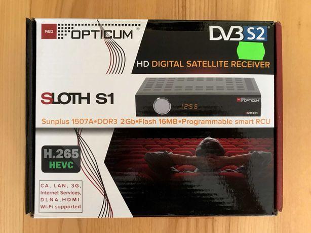 Tuner Opticum HD Sloth S1 H.265 HEVC – NOWY !!