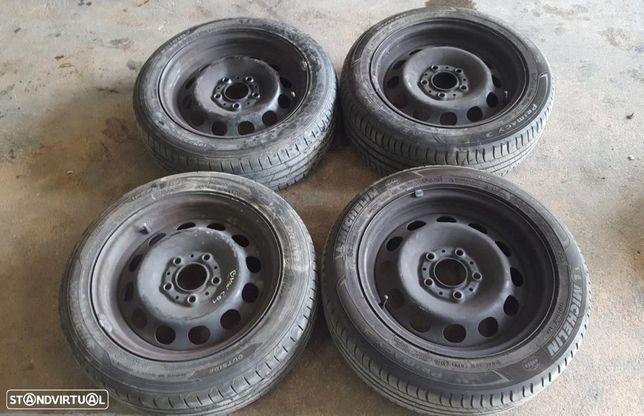 Jantes de Ferro e Pneus BMW Serie 1 (E81) 118 195/55 R16