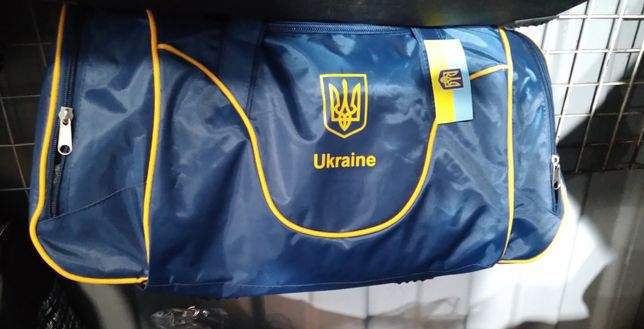 Сумка спортивная Украина (Ukraine) 62*30*20