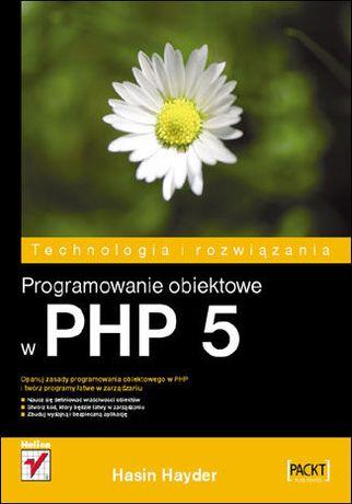 książka Programowanie obiektowe w PHP