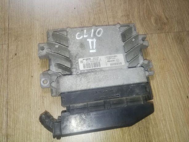 Komputer sterownik silnika RENAULT Clio II 1.2