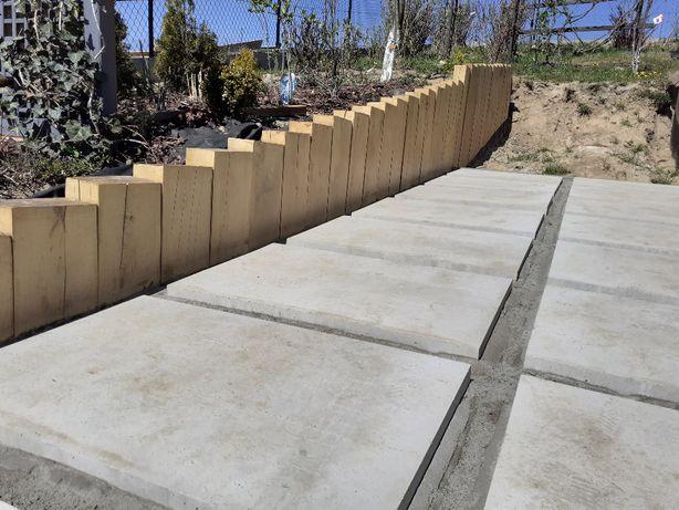 Podkłady ogrodowe belki,palisady NIE KOLEJOWE wysyłka