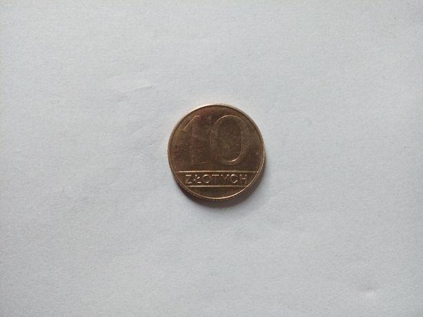 Moneta 10 zł 1990 r.