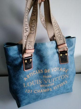 Torba Louis Vuitton niebieska