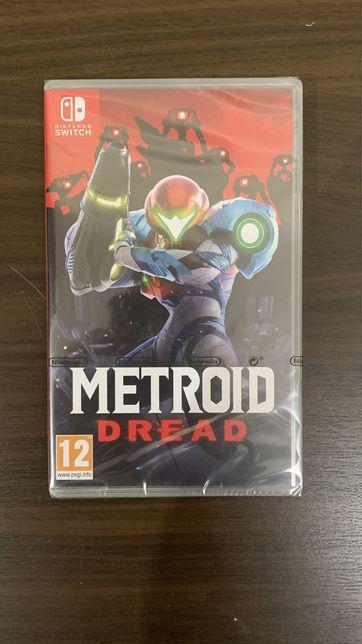 Metroid Dread nintendo switch selado igac