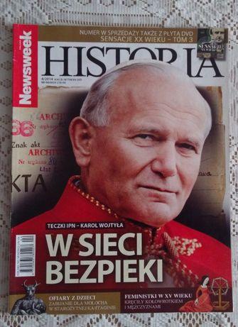 Newsweek historia nr 4/2014 - Karol Wojtyła w sieci bezpieki; papież