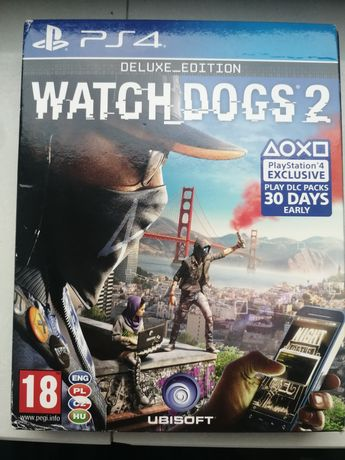 Watch Dogs 2 Deluxe Edition PL PS4
