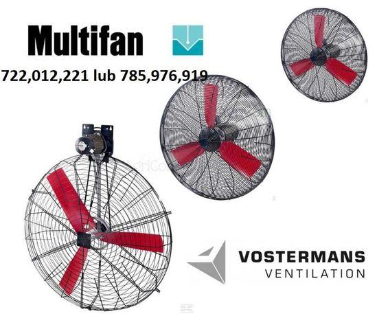 Mieszacz powietrza mieszalnik koszowy recyrkulator MultiFan