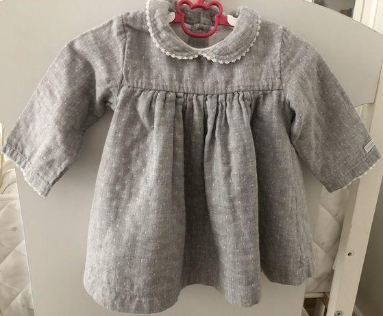Zara baby girl zestaw 17 szt. ubran rozm. 80 9-12 miesiecy