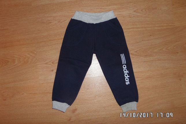 Спортивные штаны с начёсом рост 86-92 см.