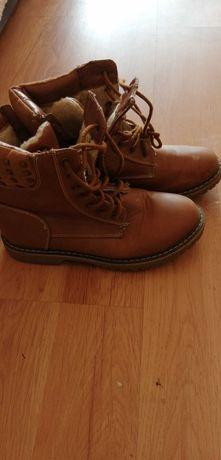 Buty traperki róż 36