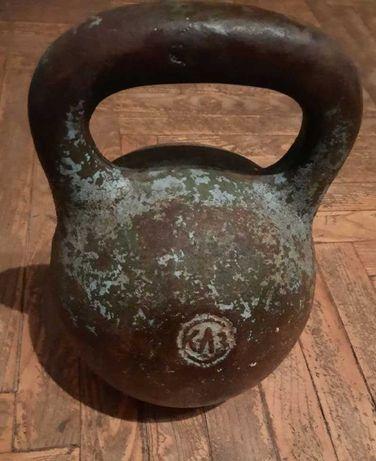 Гиря 8 кг СССР ( клеймо КЛЗ)