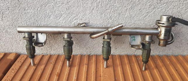 Listwa wtryskowa wtryskiwacze paliwa VW PASSAT B5/AUDI A4 B5 1.8T ANB
