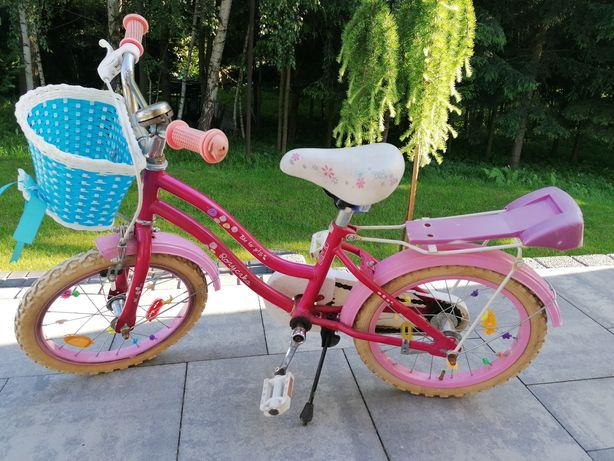 Rower Różyczka Arkus koła 16 dla dziewczynki