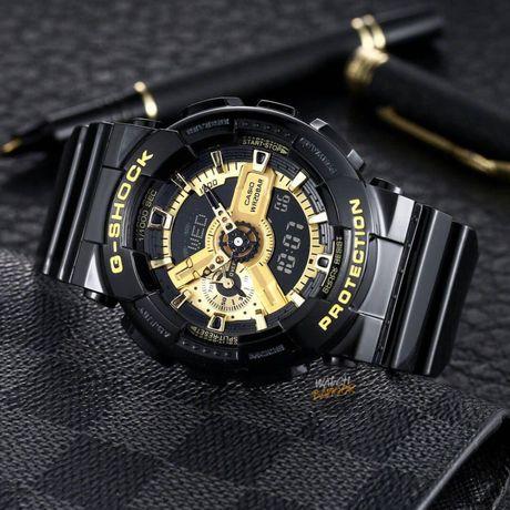 G Shock GA 110 Black Gold