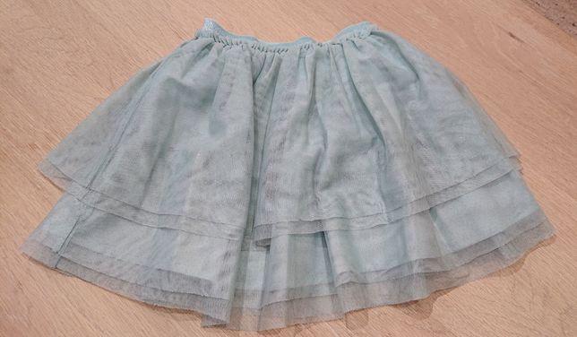 Spódnica spódniczka tiulowa h&m, r. 116